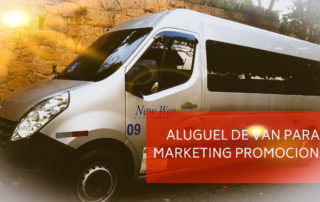 Aluguel de van marketing promocional